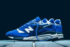 New Balance 'Made in USA' 998 Releases in Red & Blue Colorways - EU Kicks Sneaker Magazine