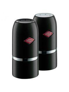 Wesco Salt & Pepper Shaker Set - Black   Homeware Boutique