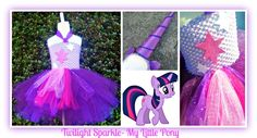 Twilight Sparkle- My Little Pony Tutu Set- available at Booti Tutu on FB- NZ Based