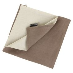 Chilewich - Double Linen Napkin - Natural/Taupe