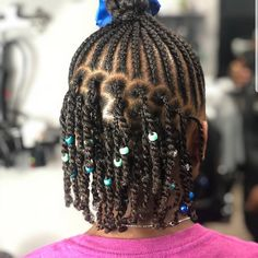Best Picture For children hair styles braids For Your Taste You are looking for something, and it is going to … Childrens Hairstyles, Lil Girl Hairstyles, Natural Hairstyles For Kids, Braided Hairstyles, Kids Hairstyle, Toddler Hairstyles, Braids For Kids, Girls Braids, Kid Braids