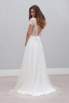 Esther - back,  Marie laporte, 2015 wedding dress