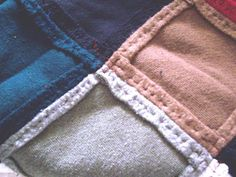sweatshirt quilt - Google Search