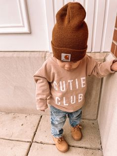 Outfits Niños, Cute Baby Boy Outfits, Toddler Boy Outfits, Cute Outfits For Kids, Cute Baby Girl, Cute Baby Clothes, Baby Love, Cute Babies, Toddler Boy Fashion