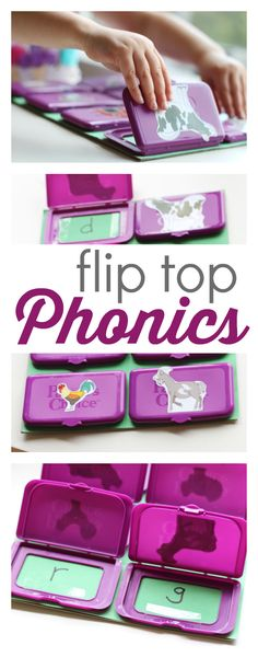 Anyone could do this. Great idea for phonics.