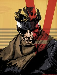 Venom Snake by JoelWhite on DeviantArt Big Boss Metal Gear, Snake Metal Gear, Metal Gear Games, Metal Gear Solid Series, Fantasy Character Design, Character Art, Metal Gear Survive, Call Duty Black Ops, Metal Gear Rising