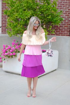 Lipgloss and Lace Mint Julep Boutique, Steve Madden Bags, Under Dress, Spring Looks, Pretty Pastel, Lip Gloss, Lace Skirt, Dressy Skirts, Dresses