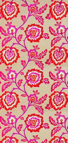 Famous Textile Prints - Pinious [dot] com Motifs Textiles, Textile Prints, Textile Patterns, Flower Patterns, Color Patterns, Print Patterns, Floral Prints, Fabric Wallpaper, Pattern Wallpaper