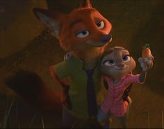 A shot of Nick Wilde and Judy Hopps with their arms around each other. This was taken from Zootopia UK trailer Zootopia-NickWilde and Judy Hopps 7 Nick Wilde, Walt Disney, Cute Disney, Disney Magic, Disney And Dreamworks, Disney Pixar, Disney Characters, Zootopia Characters, Geeks