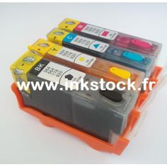 PACK HP364  (Pack 4 cartouches avec puces)