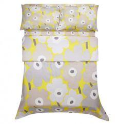 Giveaway! Marimekko Unikko Bedding on StyleCarrot right now!
