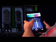 3D video mapping interactivity test