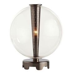 (CLICK IMAGE TWICE FOR UPDATED PRICING AND INFO) #home #homeimprovement #homedecor #lighting #lamps #lights #lightandfixture #tablelamps   see more table lamps at http://www.zbrands.com/Lamps-C40.aspx - ARTERIORS Home Lamps - Caviar Glass Table Lamp Finish: Brown Nickel / Smoke