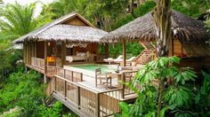 This one that's practically a piece of heaven in the middle of the woods.   16 Stunning Nipa Huts That's Basically Your Dream House
