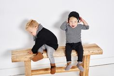 Mockies High boots Brown and Grey Babyshoes