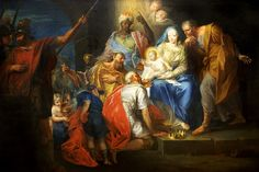 Adoration of the Kings by Joseph Adam Ritter von Mölk