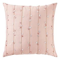 With almost 2000 filled cushions and almost 500 cushion covers to choose from, Wayfair's expansive collection leaves you spoilt for choice. Cushion Embroidery, Hand Embroidery Flowers, Flower Embroidery Designs, Embroidered Cushions, Hand Embroidery Patterns, Beaded Embroidery, Diy Cushion Covers, Cushion Cover Designs, Decorative Pillow Covers