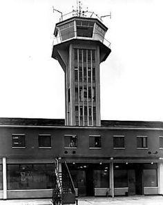 RAF Burtonwood control tower Warrington England, Warrington Cheshire, Childhood Images, Royal Air Force, Royal Navy, Hangers, Vintage Photos, Planes, Britain