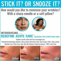 Acute Care...botox without the needles!  Email me today to get started on becoming a more beautiful you!  jillteague65@gmail.com Click here to find out what's right for you: https://jillteague.myrandf.com/Pages/OurProducts/GetAdvice/SolutionsTool