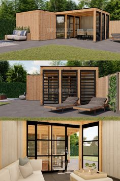 Container Homes, Man Cave, Warehouse, Pergola, Garage Doors, Cross Stitch, Backyard, Outdoor Decor, Home Decor
