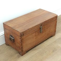 Jay Vintage Blanket Box by Ruby Rhino, the perfect gift for Explore more unique gifts in our curated marketplace.