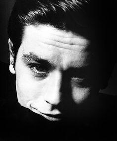 Alain Delon by Bert Stern, 1962.