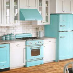 Like smeg appliances. Cute for a small apartment. Thinking green:)