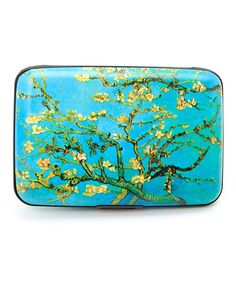 Blue & Green Branches Armored Wallet