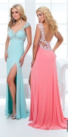 Tony Bowls Paris 114743 Prom Dress, from Golden Asp's selection of open back #prom dresses. Visit our #dress shop in Bensalem, Pennsylvania, or shop for open back dresses online at http://www.goldenaspprom.com/shop/dresses/style/open-back-prom-dresses #prom2015 #prom2k15