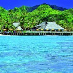 Rarotonga.. the Rarotongan Beach Resort & Spa..