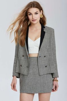 8e7cd7eb31cb Vintage Chanel Avignon Plaid Set I would sell my soul for this outfit.  Vintage Chanel