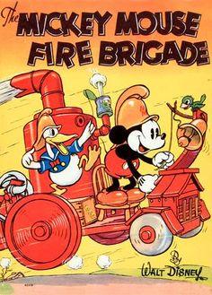 Mickey's Fire Brigade 1935