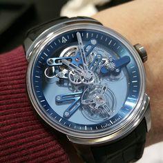#angelus #u20 #tourbillon #skeleton #timepiece #followme #watchesandart #watchanish #puristspro #hodinkee #fratellowatches #followme #luxurywatches #titanium #carbon #watchprice by watchesandart