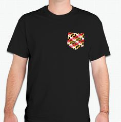 Maryland Flag Pocket Tee