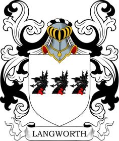 Langworth Family Crest and Coat of Arms
