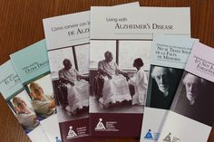 Alzheimer's disease books and booklets in English and Spanish. Download for free or order in bulk at: http://www.ahaf.org/alzheimers/resources/publications.html