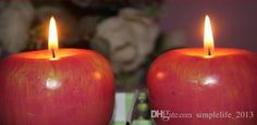 New Arrival Creative Tea Light Candle Fruits Candle Simulation Apple Candle Gifts Home Decoration From Simplelife_2013, $5.24 | Dhgate.Com