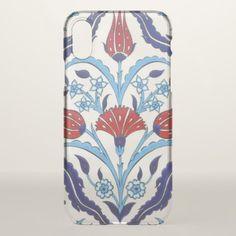 Iznik Tiles iPhone X Case - patterns pattern special unique design gift idea diy