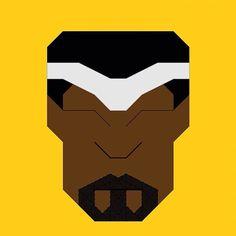 Hereos&Villains pixel/icon series -  Luke Cage #marvel #marvelcomics #marveluniverse #lukecage #heroes #villains #superheroes #vectorart #icondesign #marvelnow #adobeideas #logo #illustrator #instaart #vector #digitalart #iconaday #bestvector #illustagram #followme #vectorillustration #vectordesign #adobeillustrator #dailyart by nbs_graphics