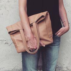 #bagsbylenka SELMA TOTE NUDE