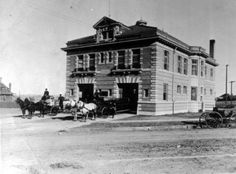 fire pony pic! This is the Denver Fire Department Station #15 at 1080 Clayton in the Congress Park neighborhood. Taken about 1907. Photo from the Denver Public Library Western History Collection