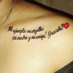 Frase & Corazón en honor a Madre