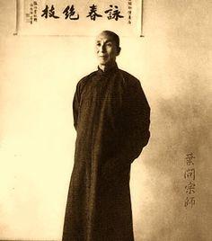 Bruce Lee's teacher:  Great Grandmaster Yip Man