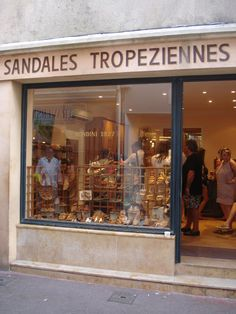 Alexandra D. Tropez, France - A Saturday in St. Tropez bought shoes here once Saint Tropez, Ansel Adams, St Tropez France, French Lifestyle, Paradise On Earth, French Countryside, Town And Country, Restaurants, French Riviera