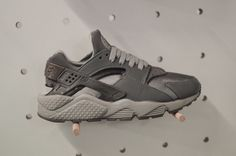 7ef9d3f88d15 Exclusive  This Massive Collection of Nike Air Huaraches Will Blow You  AwayLight Graphite Medium Grey (2001)