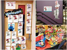 Dr. Seuss Themed Staff Appreciation Week Ideas