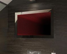 Illuminated Bathroom Mirrors, LED Mirrors with Lights Led Mirror, Mirror With Lights, Modern Mirror Design, Illuminated Mirrors, Infinity Mirror, Bathroom Layout, Dj, Diamond, Home Decor