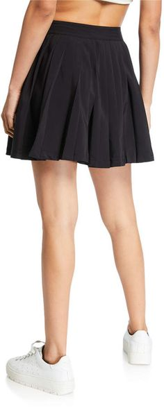 a07f4eb947 Fila Lauryn Pleated Tennis Skirt Pleated Tennis Skirt, Skater Skirt, Active  Wear, Flared