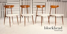 Retro Dining Chairs by Baumritter
