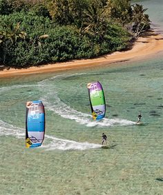 Kiteboarding = happiness.